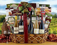 Jordan and J Winery Gift Basket - Item No: 756