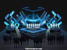 【新提醒】小型音乐会舞美设计 - 舞台布...