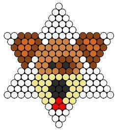 Perler Bead Dog pattern