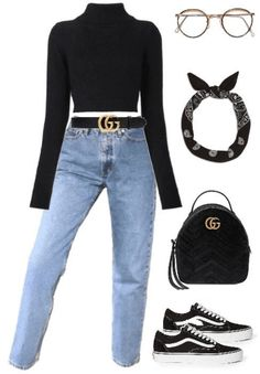 Today we are going to make a small chat about 2019 Gucci fashion show which was in Milan. When I watched the Gucci fashion show, some colors and clothings. Teenage Outfits, Teen Fashion Outfits, Mode Outfits, Outfits For Teens, Trendy Outfits, Gucci Outfits, Fashion Ideas, Fashion Clothes, Women's Clothes
