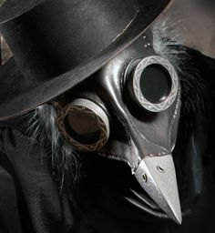 Ichabod, Steampunk Plague Doctor Mask - WOW