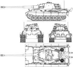 E-75 Standardpanzer blueprint