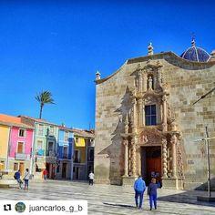 Monasterio de la Santa Faz. Magnífica imagen de nuestro amigo @juancarlos_g_b en Instagram. 👏👏😄 #MifotoAlicante #Alicante #CostaBlanca