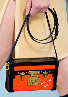 Mini trunk bags at Louis Vuitton Fall/Winter 2014
