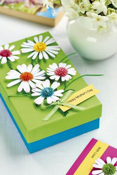 Quill a daisy gift set in our March issue, out now! Image: cliqq.co.uk