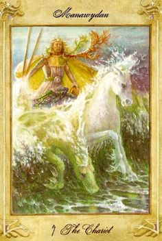 The Chariot - Llewellyn Tarot