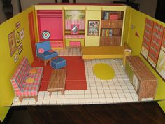 Vintage Barbie Dream House 1962 Near Mint | eBay Bev and I got this for Christmas one year, we were so excited!