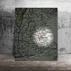 Mapa de Boston,ciudad de Boston,travel poster,mapa ciudades,mapas decoración,mapas del mundo,mapa,impresión y laminas,mapas imprimir,planos