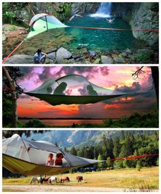 Cool Tentsile Tree Camping Tent | DIY Tag