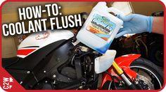 How-To: Motorcycle Coolant Flush (2009 Yamaha R6)
