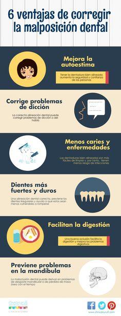 Las ventajas que ofrece tener unos dientes bien alineados. #SaludBucal #EstéticaDental http://www.clinicacurull.com/