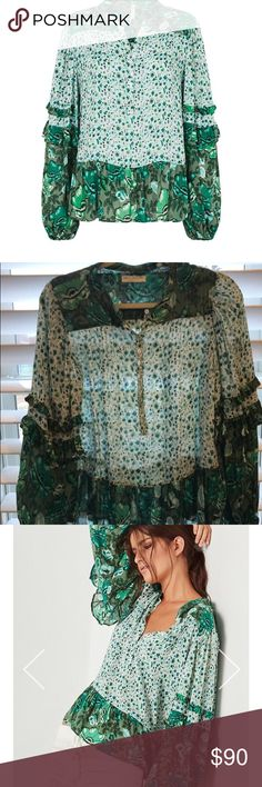 Spell & the Gypsy Winona Top XS EUC. Worn once. Hand washed laid flat To dry. Smoke & pet Free. Spell & The Gypsy Collective Tops Blouses