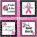 Creative Breast Cancer Awareness Products: Windham Fight Like a Girl Fabric