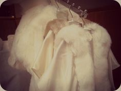 Bridal Faux Fur Jackets, Shrugs and Stoles by Blanche in the Brambles