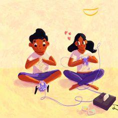 Este es un secreto, así que no se los contaré. . . . #illustration #illustrationartist #childrenbooks #childhoodweek