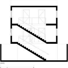 Casa Um | Terra e Tuma #drawing #section