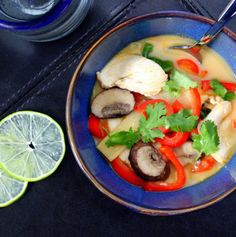 Thai Chicken Coconut & Curry Soup