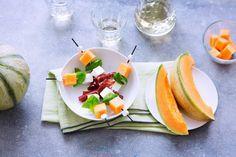 Bouchées apéritives au Melon de nos Régions
