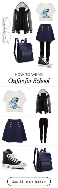"""""""Untitled #161"""" by maya-03-b on Polyvore featuring River Island, Tommy Hilfiger and Converse"""