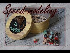 *SPEED MODELING* Jeu du Morpion petits dragons en Fimo - YouTube