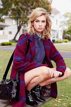 "Red Plaid Coat | Community Post: 7 Outfits From ""Clueless"" You Can Recreate With Urban Outfitters Clothes"