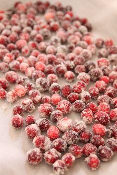 Bran Appetit » Sugared Cranberries
