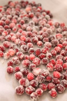 Bran Appetit » Sugared Cranberries