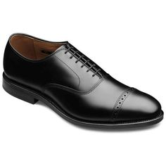 Gonna look great under Tuxedo Pants Fifth Avenue - Cap-toe Lace-up Mens Dress Shoes by Allen Edmonds not tuxedo shoes but can be worn with one perhaps? Oxford Shoes Outfit, Dress Loafers, Black Dress Shoes, Up Shoes, Me Too Shoes, Shoes Men, Allen Edmonds Fifth Avenue, Formal Shoes, Men Dress