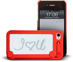 Crazy Geek Products / Magna Doodle iPhone 4 Case! Click on the image to find out how much it costs!