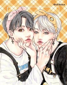 Drarry Fanart, Yoonmin Fanart, Vkook Fanart, Jungkook Fanart, Jimin Jungkook, Namjin, Kagehina Cute, Butterfly Eyes, Cute Gay Couples