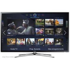 SAMSUNG - UE46F6320 _ Ecran LED Edge 3D Full HD 117 cm - Résolution 1920 x 1080 pixels - Traitement d'image 3D HyperReal Engine - Technologie Clear Motion Rate 200 Hz - Processeur Dual Core : votre TV est plus rapide - Clone View : partage du contenu de l'écran en streaming sur votre smartphone ou tablette - Smart TV : profitez très simplement de tous les services Samsung Smart TV (Mes Programmes, Mes Contenus, Mes Applications, Mon Vidéo Club et Mes Réseaux) -