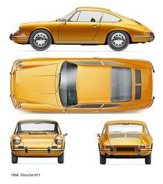 1968 - yellow car