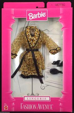 1998 Barbie Fashion Avenue Lingerie 18092 Mattel PF for sale online Barbie Doll Set, Beautiful Barbie Dolls, Vintage Barbie Dolls, Barbie And Ken, Barbie Dress, Barbie Clothes, Barbie Outfits, Barbie Stuff, Accessoires Barbie