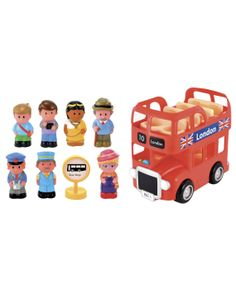 HappyLand London Bus Set : HappyLand London Bus Set : Early Learning Centre UK Toy Shop