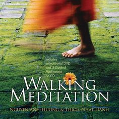 """Waking Up to the Moment by @thichnhathanh """"Walking #meditation is a way of waking up to the wonderful moment we are living in. If our mind is caught, preoccupied with our worries and our suffering, or if we distract ourselves with other things while walking, we can't practice mindfulness; we can't enjoy the present moment. We're missing out on life."""""""