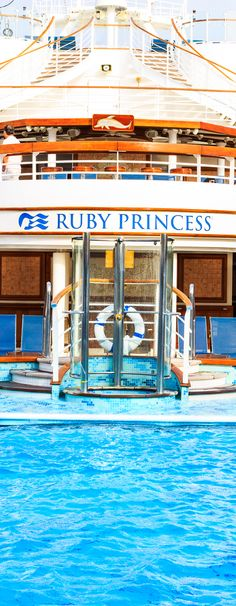 Never been on a cruise and don't know what to expect? Read all about cruising on The Ruby Princess.
