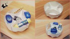 DIY Paper Circular Storage Box | Easy Storage Paper Round Box