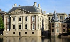The Royal Picture Gallery Mauritshuis is an art museum in The Hague, the Netherlands. (I have to see this before I die. Netherlands Tourism, The Hague Netherlands, Colombian Art, National Palace Museum, Hans Holbein, World Famous Artists, Roman Architecture, Johannes Vermeer, San Francisco Museums