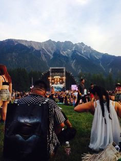 Pemberton Music Festival! You can't beat the scenery or the music❤️