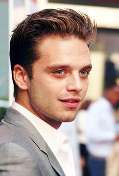 Sebastian Stan looking like a homeless drug addict ready to attend the Oscars