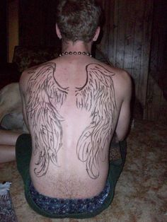 #angel #wings #tattoo