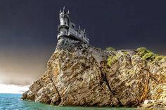 Swallow's Nest( Russian: Lastochkino Gnezdo), Crimea, Russia