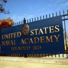 Annapolis united naval academy. Md