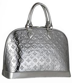 """Louis Vuitton mirrored """"Alma"""" bag, I love mine"""