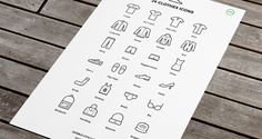 24 Free Clothes Icons. Ready in ai. vector. Super easy importing to photoshop as vector shape. Download and enjoi!