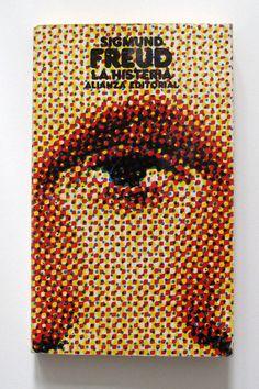 Freud by El Libro Bolsillo Alianza Editorial Madrid, designer Daniel Gil / 1967