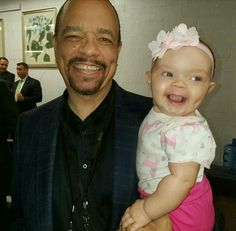 Ice T with his daughter.