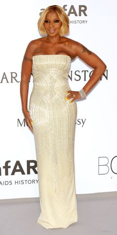 The Best of the 2015 Cannes Film Festival Red Carpet - Mary J. Blige from InStyle.com
