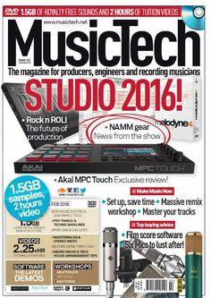 MusicTech February 2016 PDF, PDF, MusicTech, February 2016, February, 2016, Magesy.be