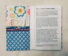 Edeltraud mit Punkten: Mutter-Kind-Pass-Hülle Bullet Journal, Sewing, Diy, Anna, Couture, Birth, Tutorials, Kids, Crafting
